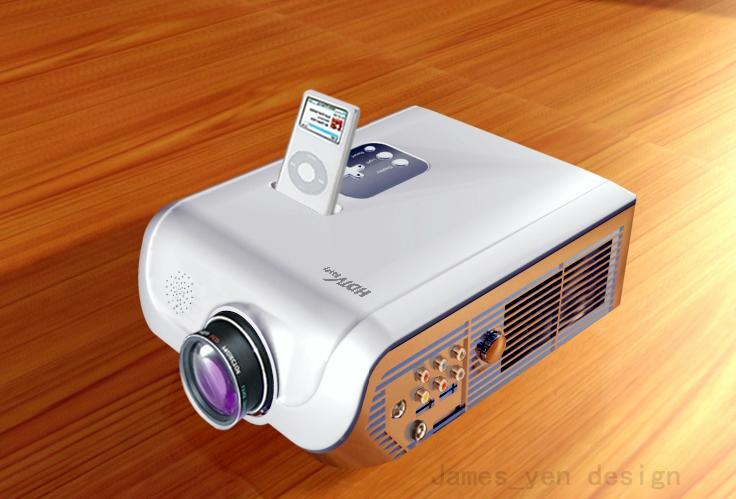 China lcd projector for ipod small china video for Ipod projector