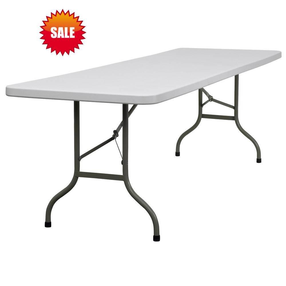 Banquet Plastic White Folding Table 200*90cm