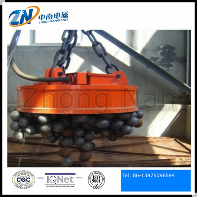 Circular Shape Electric Lifting Magnet for Steel Scrap of 2100mm Diameter MW5-210L/1
