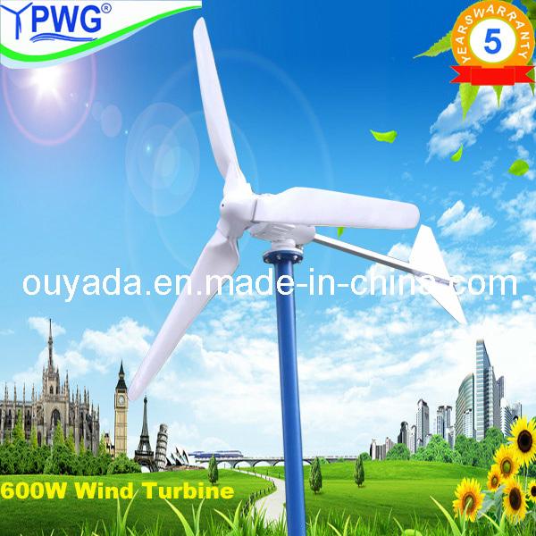 500W/600W Home Use Wind Turbine