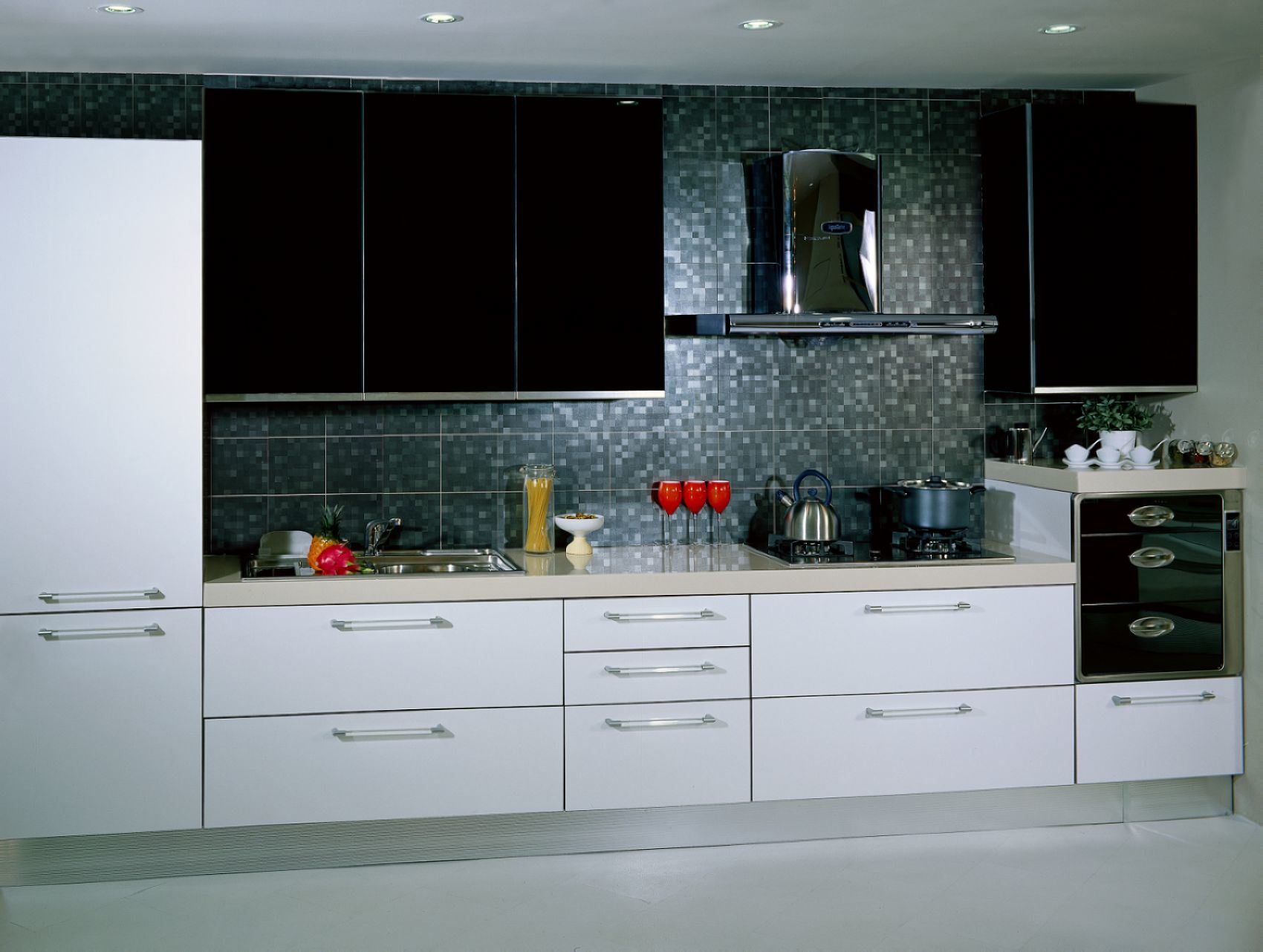 Kitchen Cabinet E001 China Kitchen Cabinet European Style Kitchen