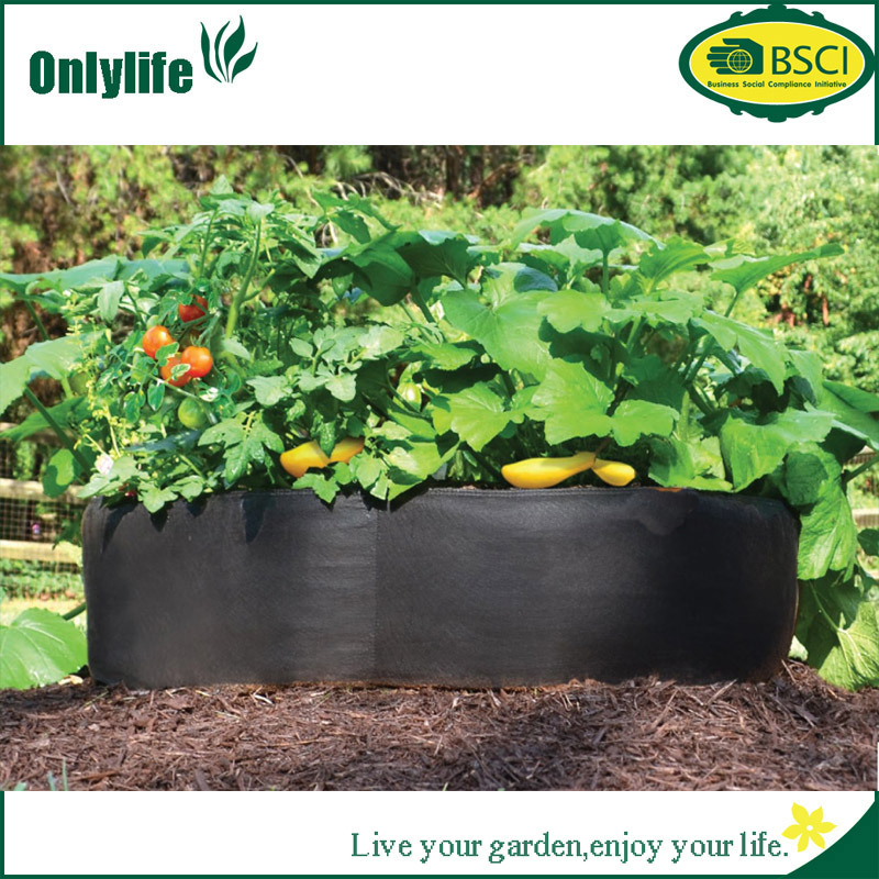 Onlylife Gardening PP PE Tomato/Vegetable Grow Bag Fabric Pots