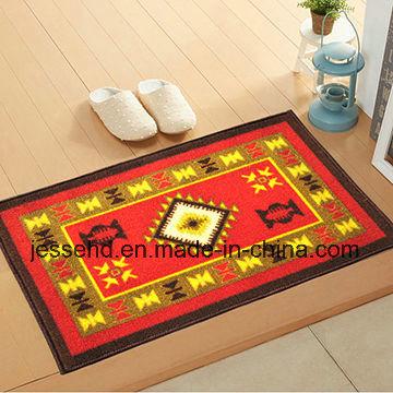 Comfortable Loop Pile Polyester Carpet Latex Backing Floor Carpet