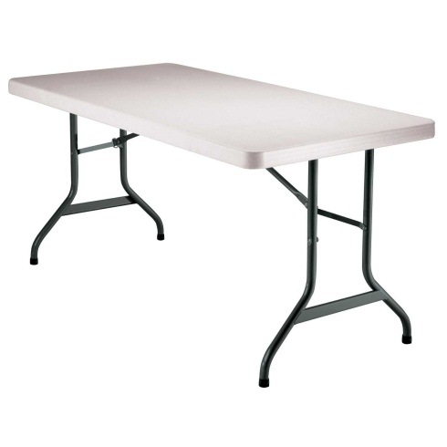 5 Foot Resin Plastic Folding Table