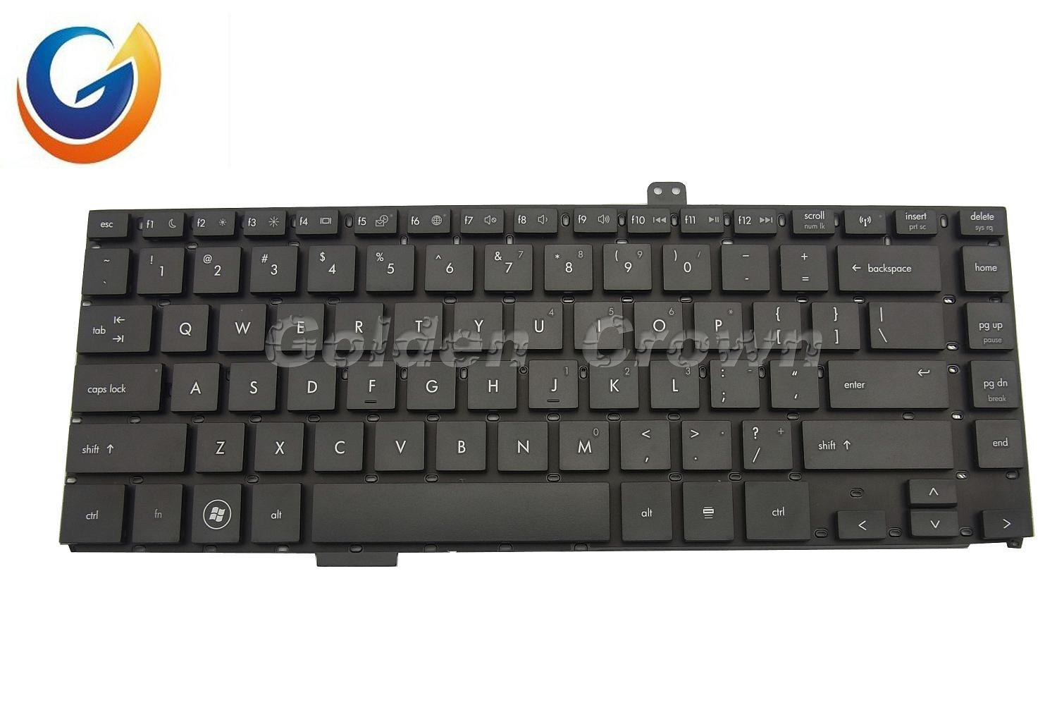 Laptop Keyboard for HP 4420 Black Without Frame US Layout ...