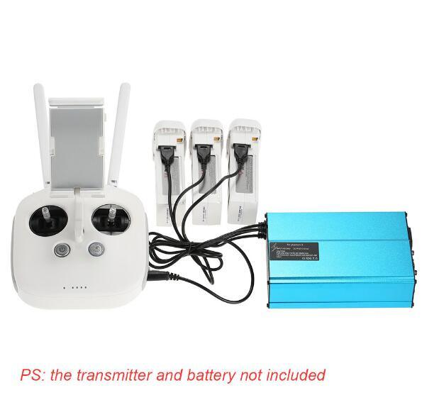 4-in-1 Lipo-Battery Charger for Dji-Phantom-3 Quadcopter Lipo-Battery and Transmitter