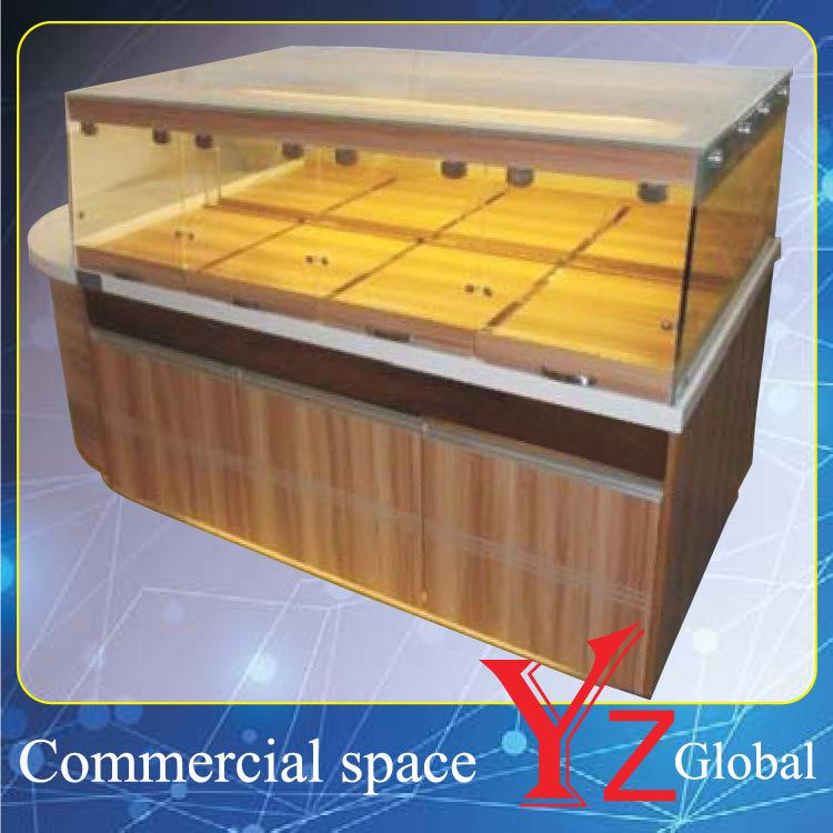 Cake Display Cabinet (YZ161010) Kitchen Cabinet Wood Cabinet Baking Cabinet Cake Showcase Pastry Showcase Bread Display Cabinet Bakery Display Cabinet