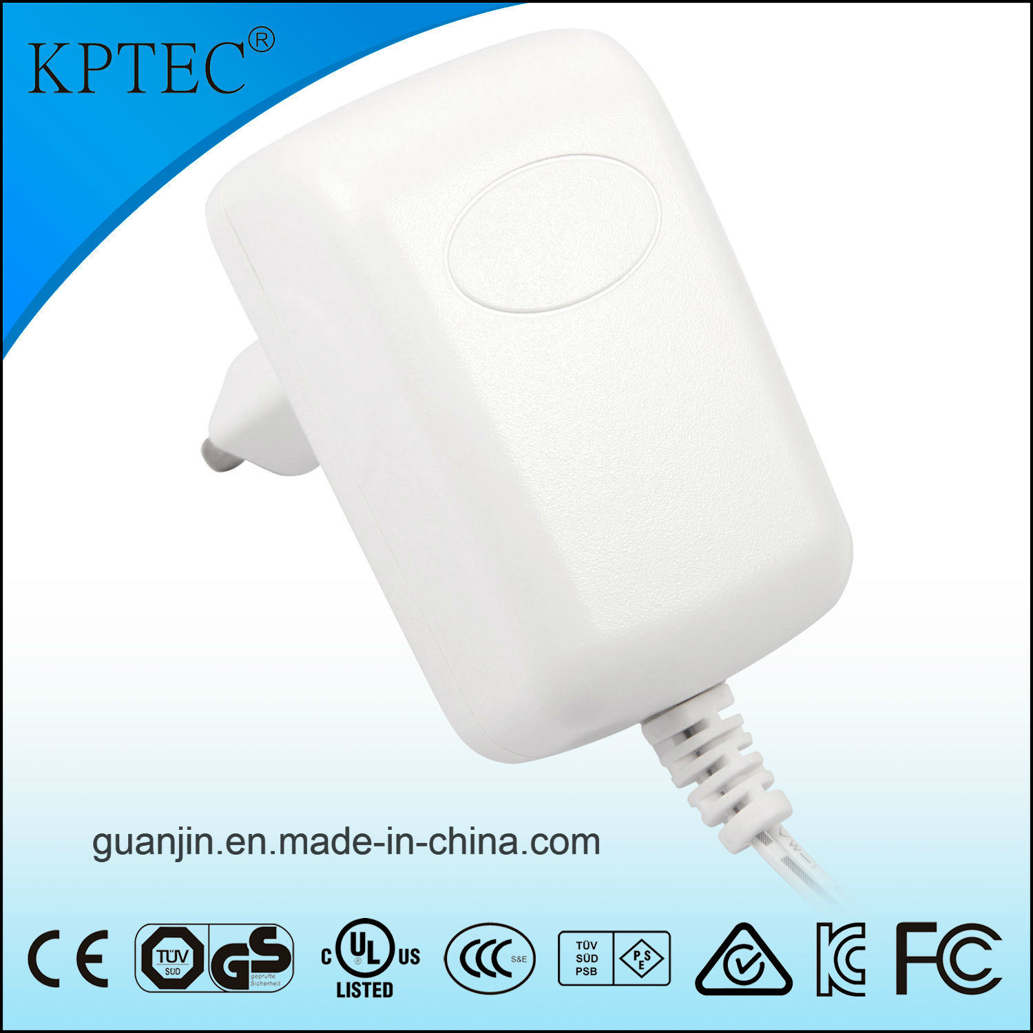 Wall Charger with UK Plug for Aroma Diffuser