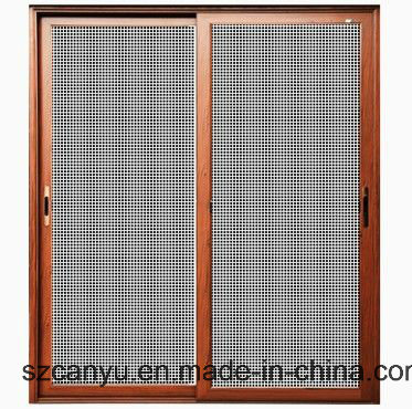 Home Anti-Theft Retractable Screen Construction Window and Door
