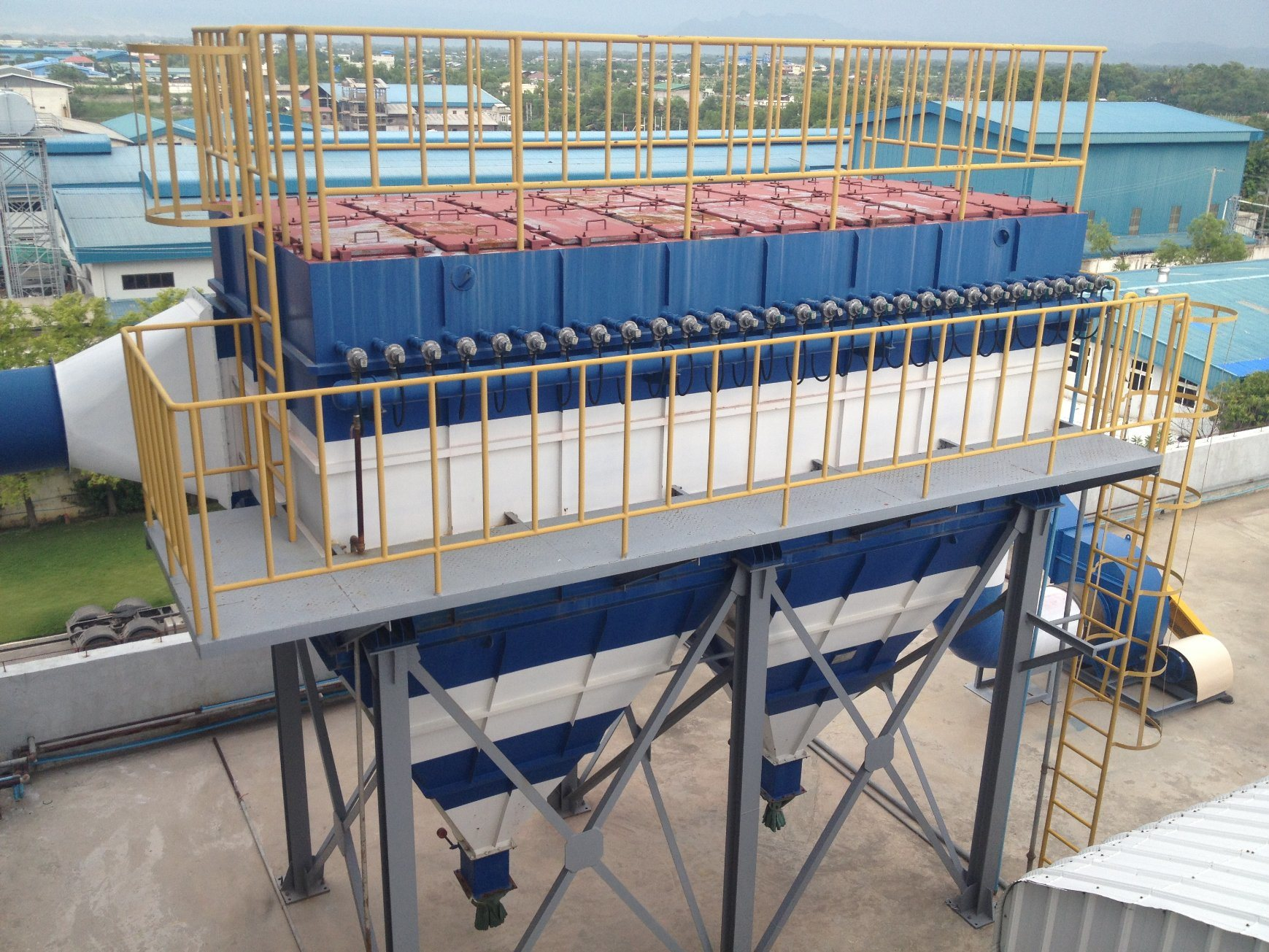 Professional Design High Tower Process Detergent Powder Plant