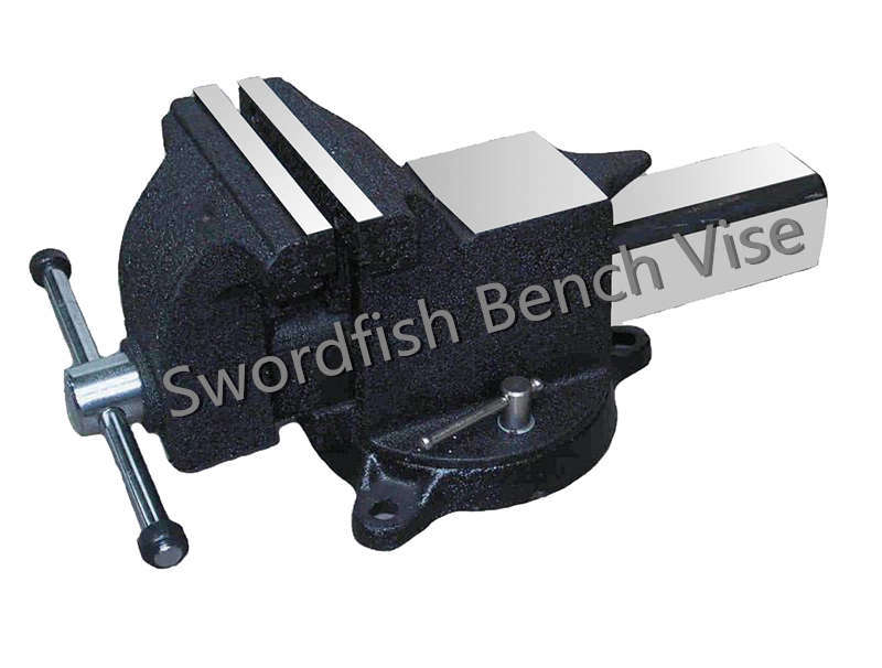 Swordfish Cast Steel Swivel Bench Vise