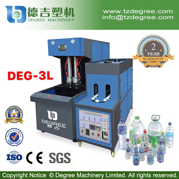 Semi-Automatic Upto 3L Plastic Pet Bottle Maker Machine