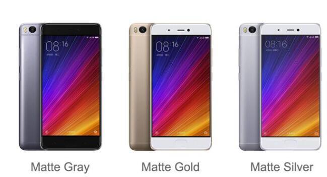 M I 5s M I 5s 3GB RAM 64GB ROM Mobile Phones Snapdragon 821 5.15′′ 12.0MP Camera Cellphone Ultrasoni Fingerprint ID Smart Phone Black Color
