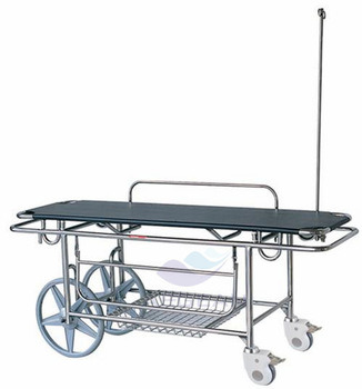 AG-HS016 Medical Equipment Hospital Adjustable Ambulance Stretcher Trolley