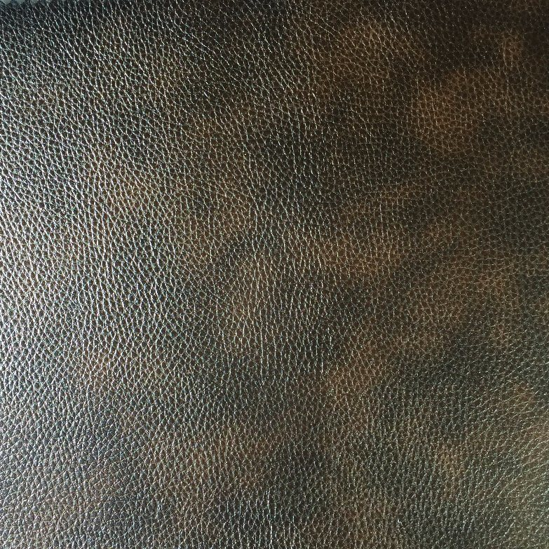 PVC Synthetic Leather for Sofa with Print, Two Tones