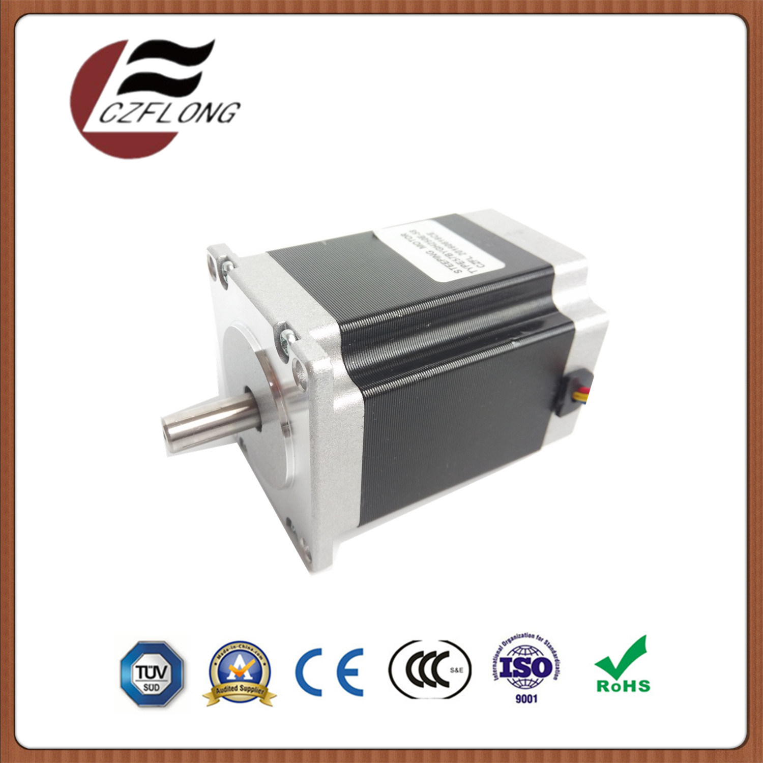 86*86mm Hybrid NEMA34 1.8 Deg Stepper Motor for CNC Machine