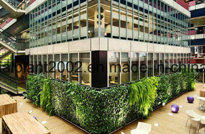 Artificial Grass Plants Green Vertical Garden Wall Decoration