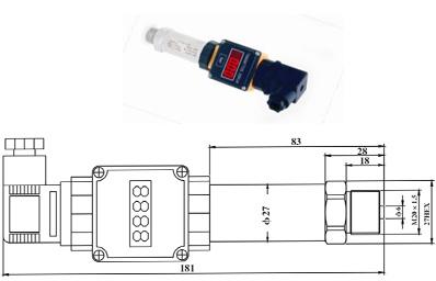HVAC Low Pressure Vacuum Sensor Transducer Transmitter (HTW-CQ04531-IX)