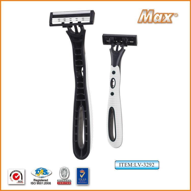 New Design Triple Blade Disposable Shaving Razor