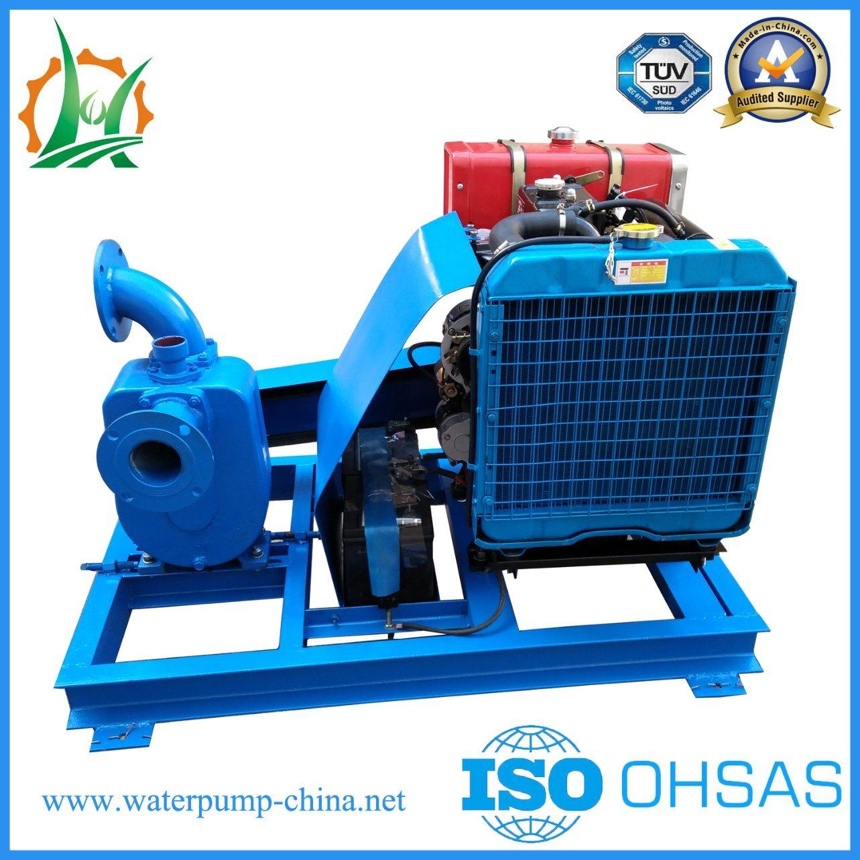 3 Inch Self Priming Diesel Engine Belt Driven Centrifugal Water Pump