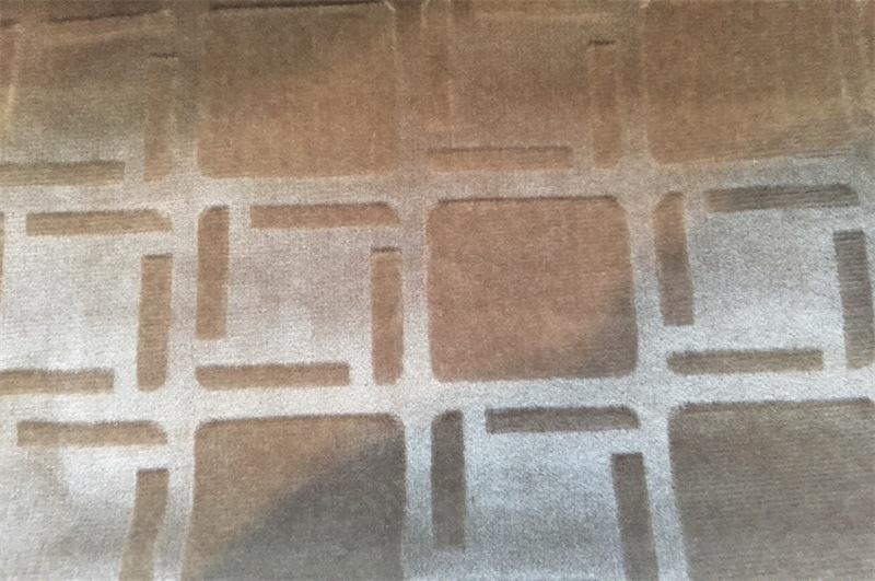 Embossed Velvet 100% Polyester Textile Fabric (EDM5100)