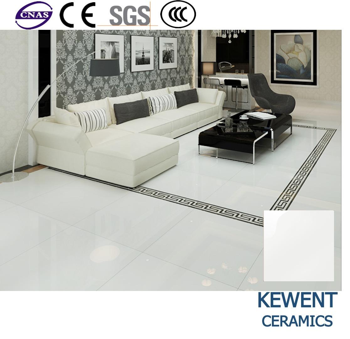 Promotion Cheap Price Super White Half Body Polished Porcelain Floor Tile