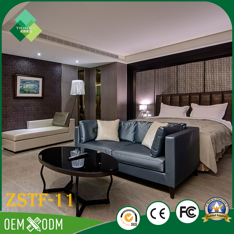 New Design Bedroom Sets of Hotel Furniture for Sale (ZSTF-11)