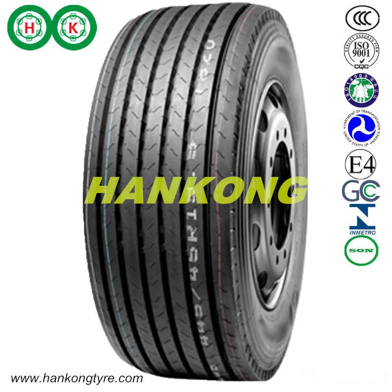 445/65r22.5, 385/65r22.5, Wheels Tubeless Trailer Tyre TBR Tyre Heavy Truck Tyre