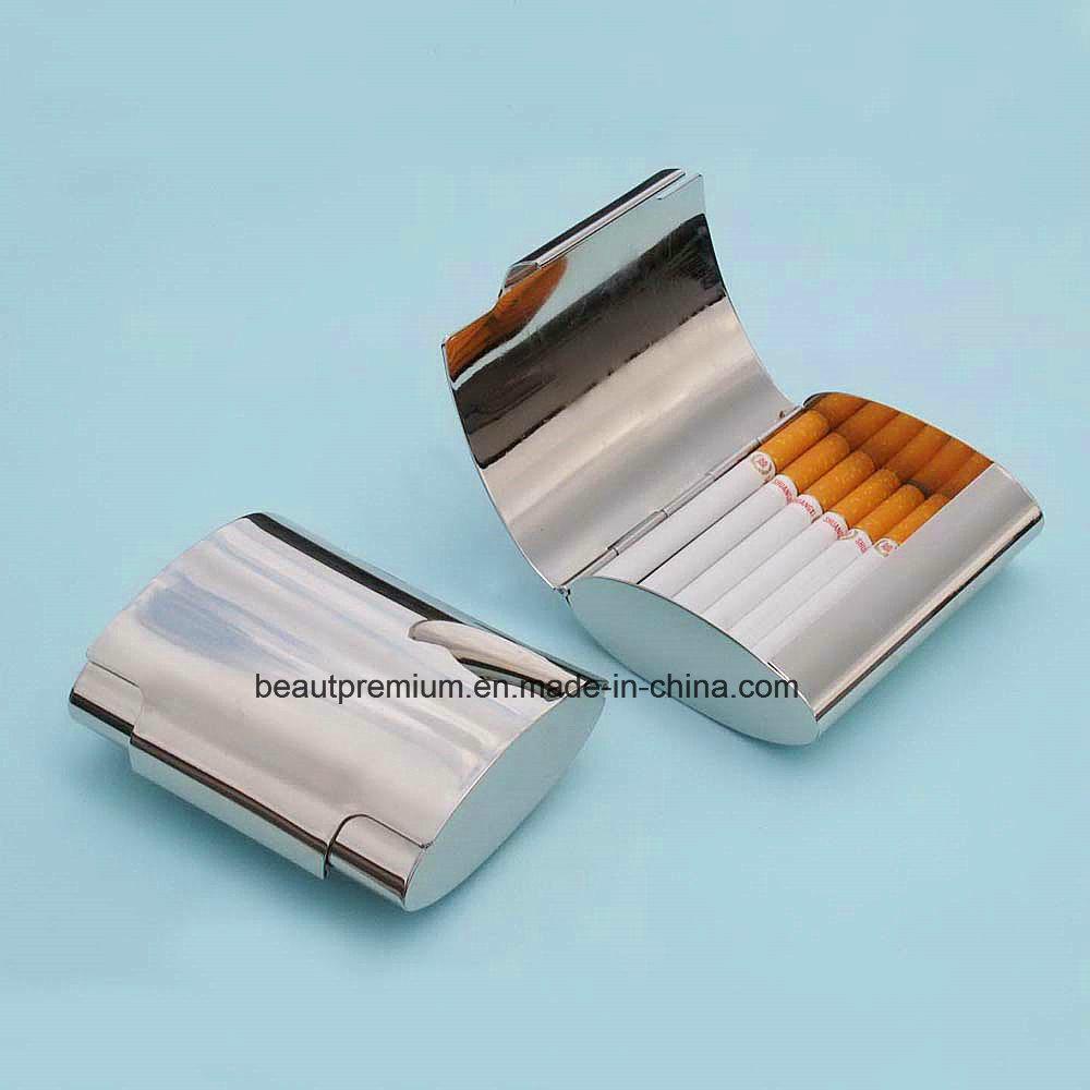 New Design Metal Stainless Steel Cigarette Case for Men BPS0190