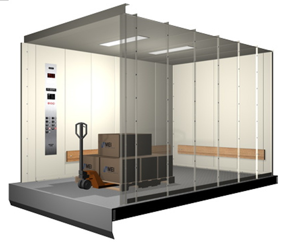 AC Vvvf Goods Lift for Factory or Warehouse