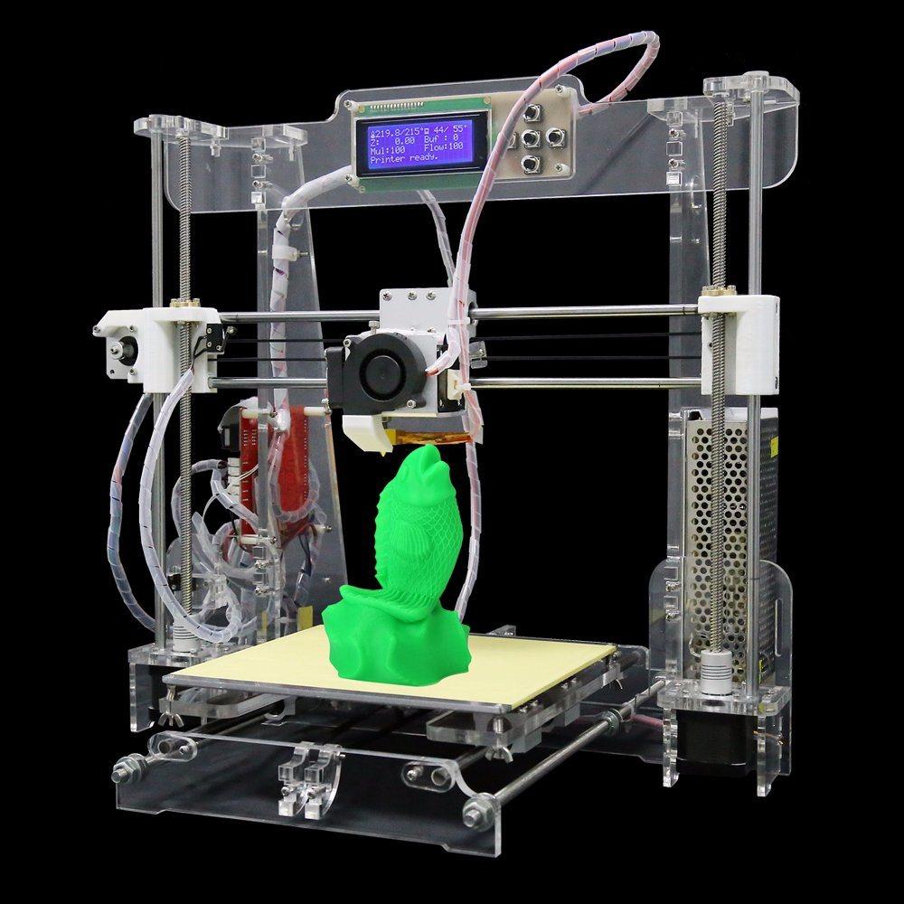 Anet 3D Large Build Size Desktop 3D Printer 3D Printer Machine for Food Houses