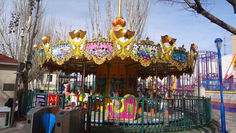 Merry -Go-Around - Kiddie Amusement Equipment