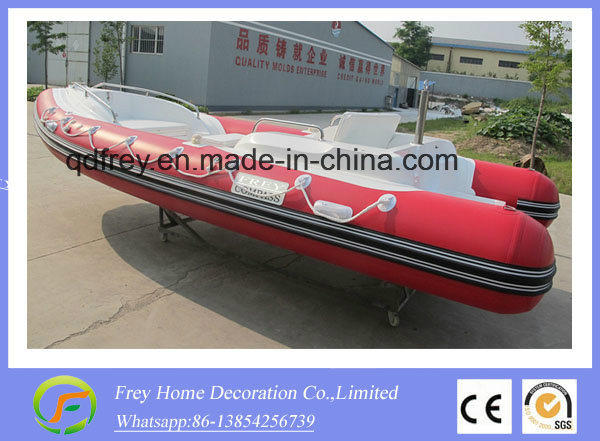 3.9m Ce China Supplier for Fibreglass Speed Boat, Rowing Boat