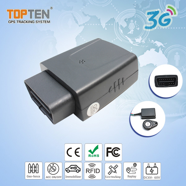 3G Car GPS Vehicle Security Alarm Tracking System with RFID Memory (TK208S-ER)