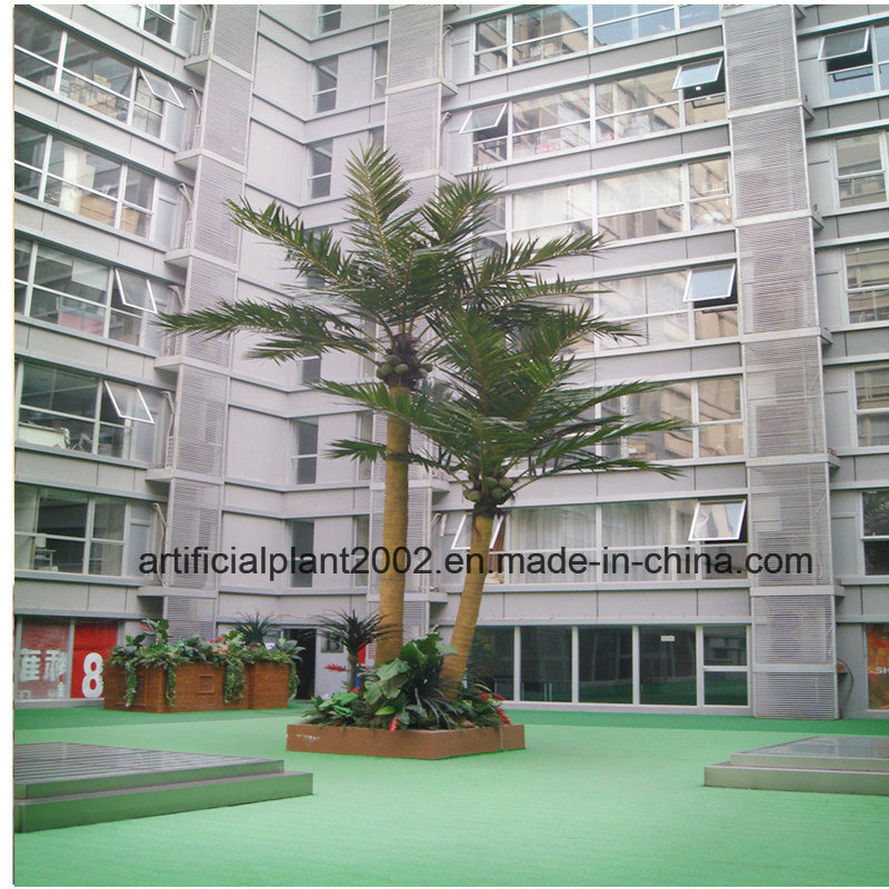Factory Supply Large Fake Garden Decoration Coconut Palm Trees