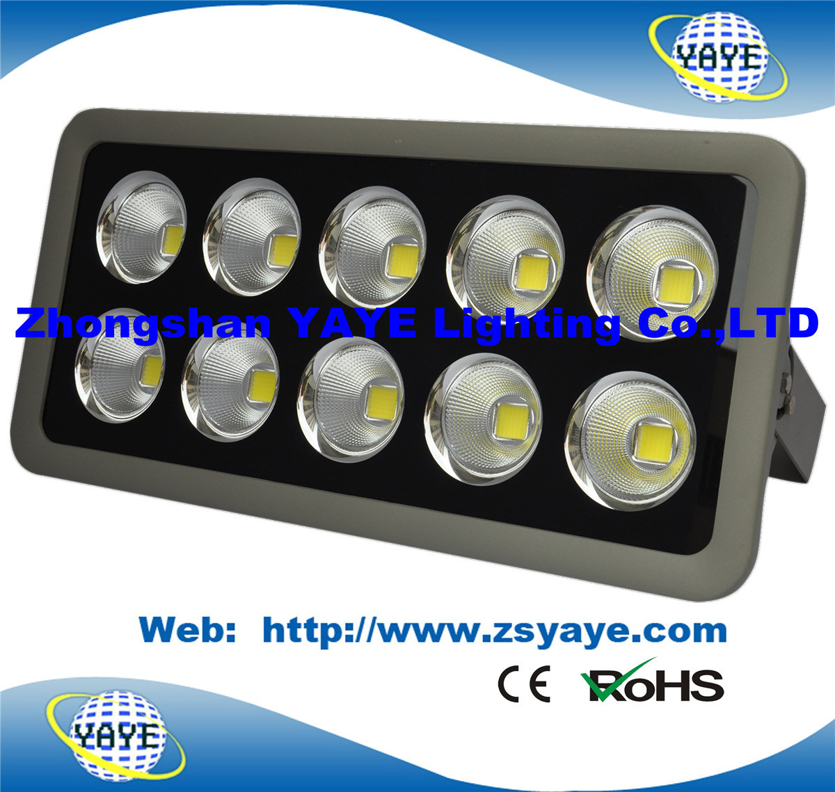 Yaye 18 Hot Sell 3/5 Years Warranty Ce/RoHS Hot Sell 500W LED Flood Light /500W LED Tunnel Light /500W LED Spotlight