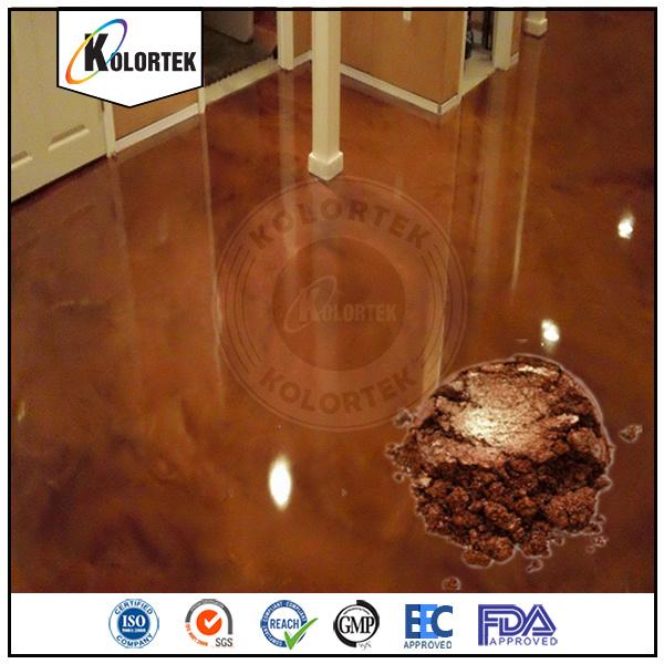 Metallic Pearlescent Floor Coating Pigments