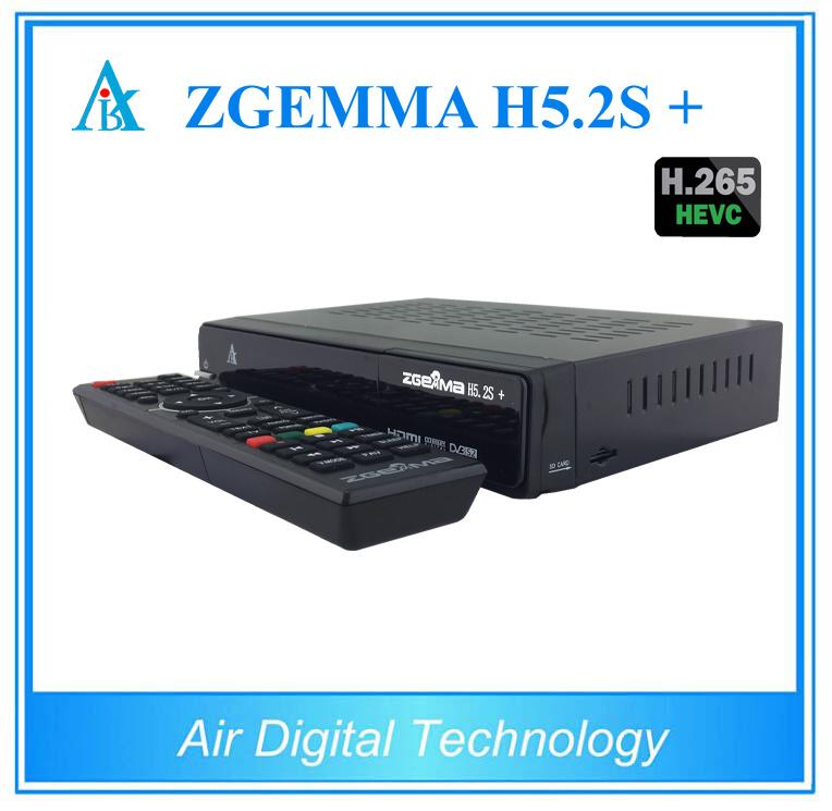 Hevc H. 265 Zgemma H5.2s Plus DVB-S2+DVB-S2X/T2/C Satellite TV Receiver Multistream Zgemma H5.2s+ Set Top Box