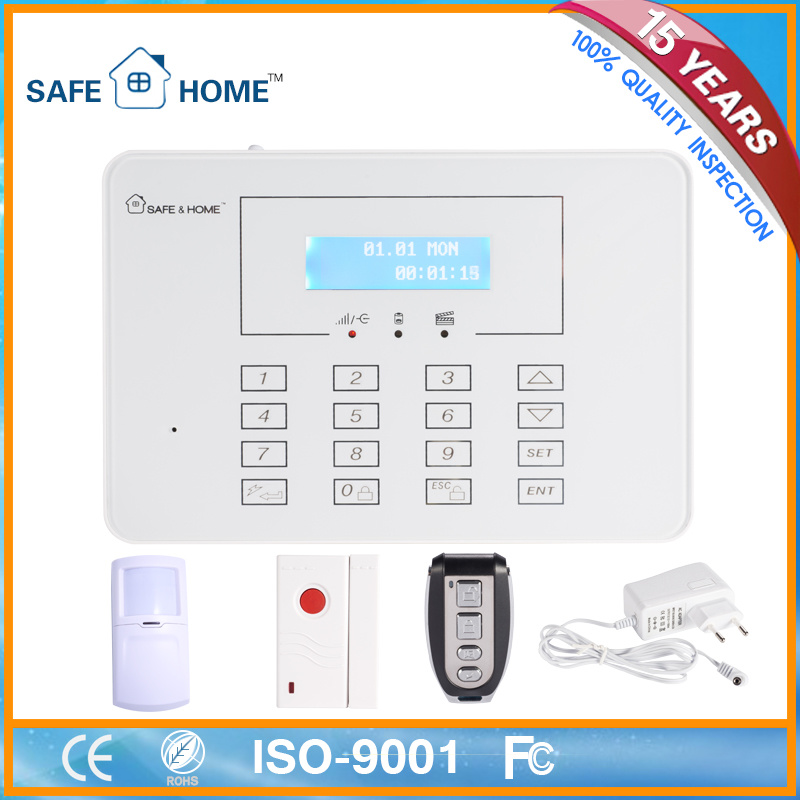 New Smart Electronic Device--Wireless Fire Alarm System