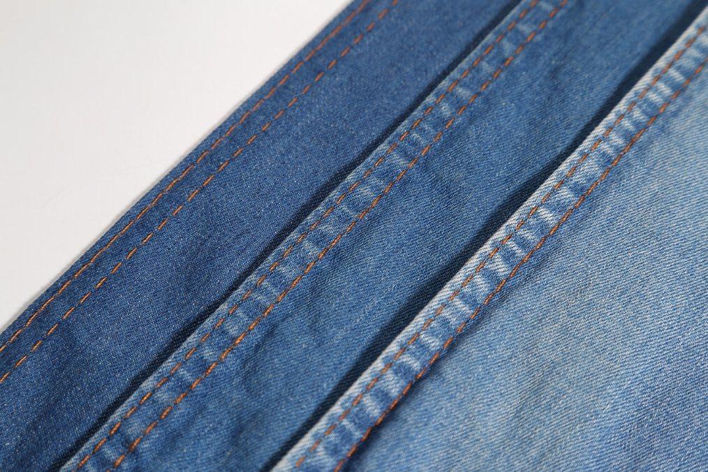 Indigo9.7oz Woven Cotton Spandex Denim Fabric