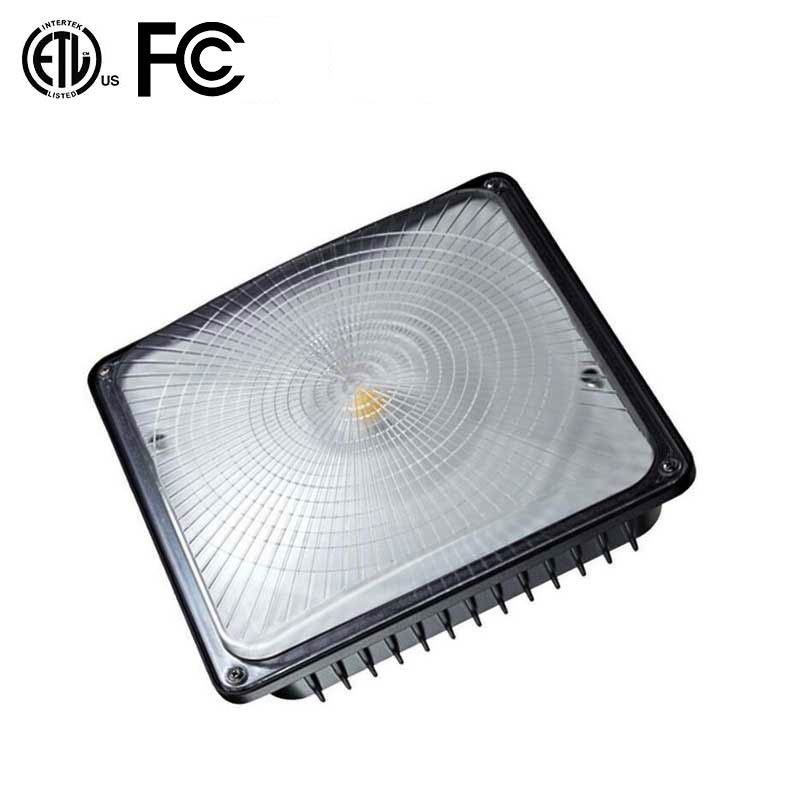 New LED Canopy Light for Gas Station 75W 100W 120W