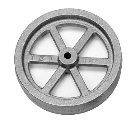 Steel Gear Wheel Simple Casting Flywheel