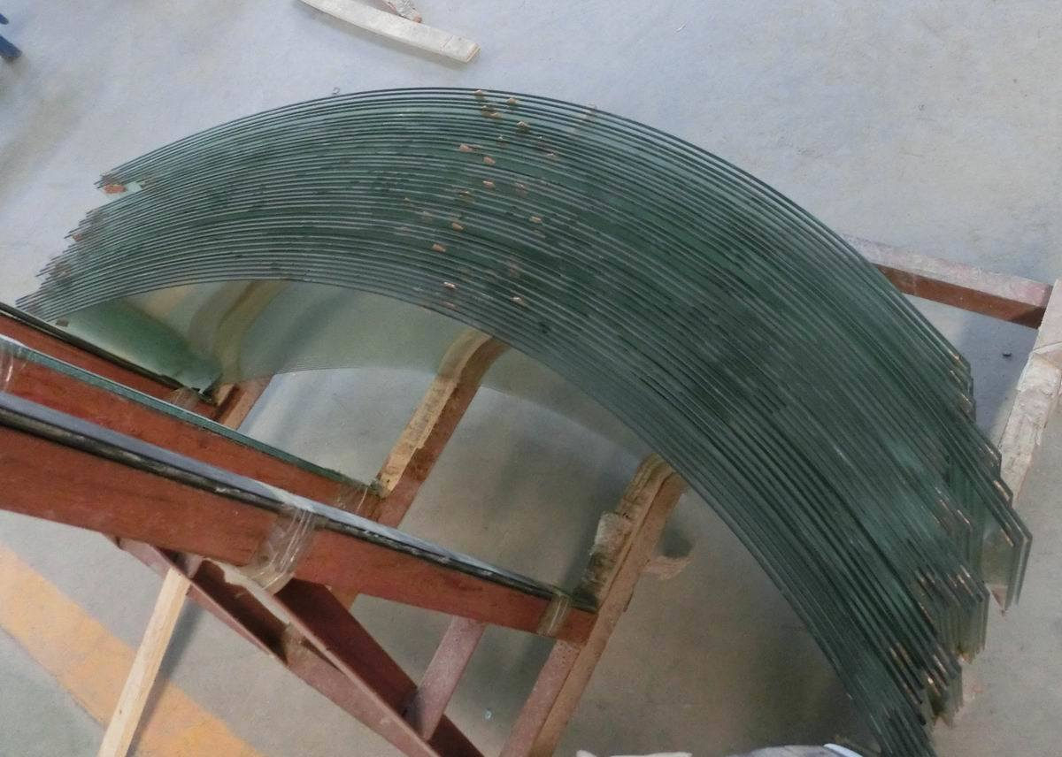 Bent Tempered Glass for Window Glass Curtain Wall Glass