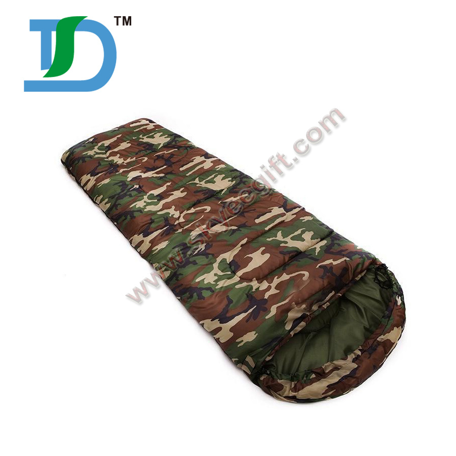 Wholesale Camouflage Thick Sleeping Bag Camping Bag Hiking Outdoor Sleeping Bag