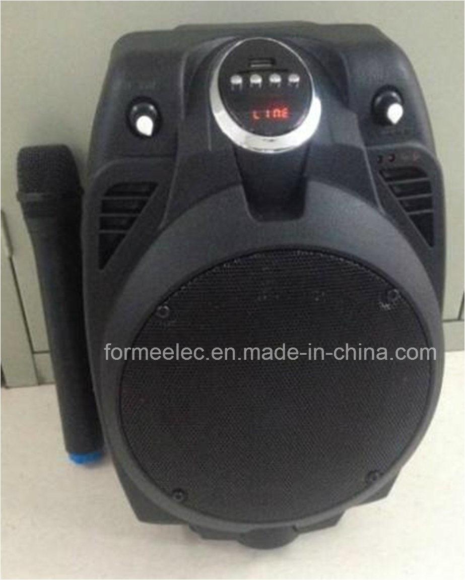Outdoor Karaoke Subwoofer Trolley Speaker RMS 15W Portable Speaker