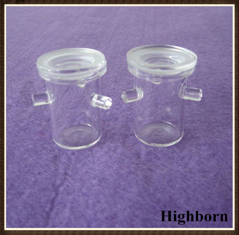 Transparent Customized Quartz Rademacher Crucibles with Handle