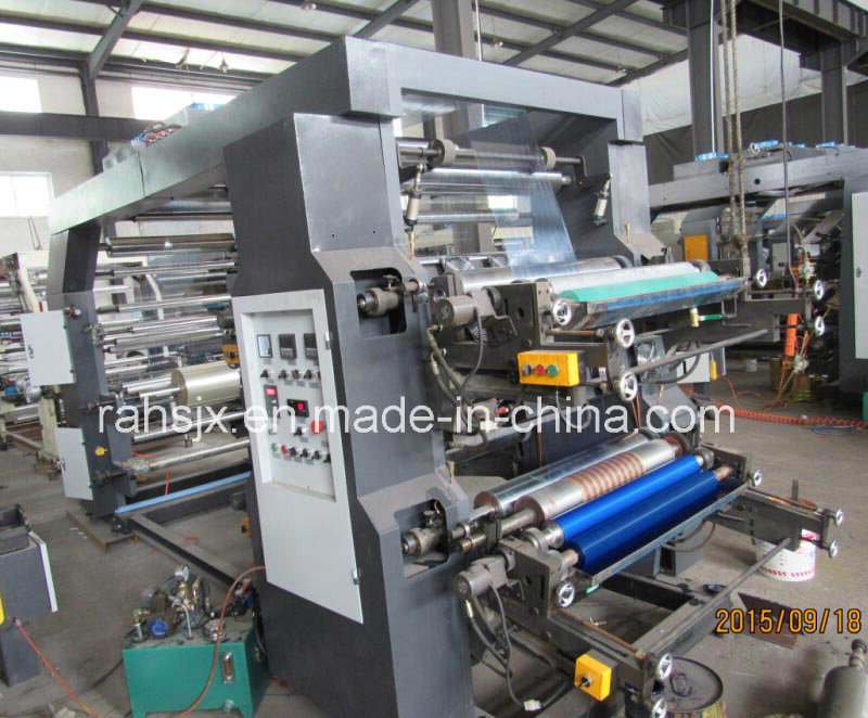 High Speed 4 Colors 800mm Flexographic Printing Machine (YTB-4800)