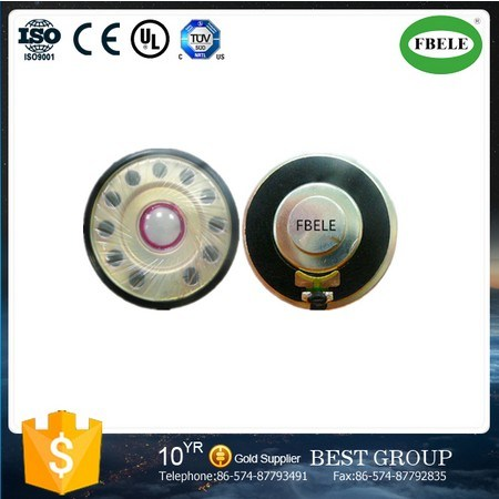 Fbs40-6 40mm Mylar Speaker Mini Round Speakers Micro Speaker (FBELE)