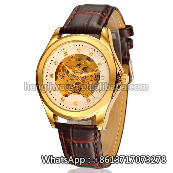 2016 New Style Mechanical Watch, Fashion Stainless Steel Watch Hl-Bg-092