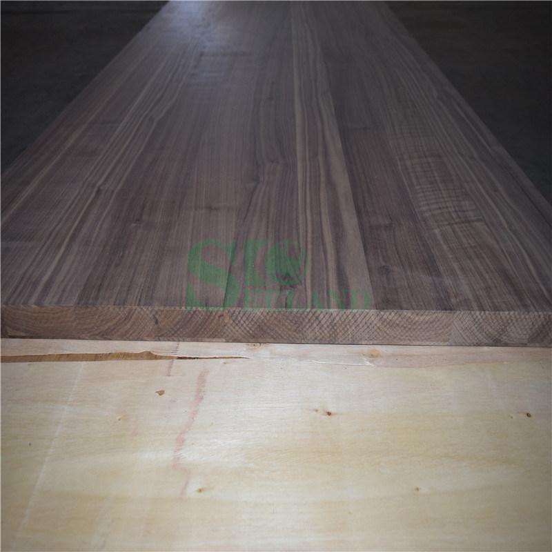 Black Walnut Edge Glued Panel for Interior